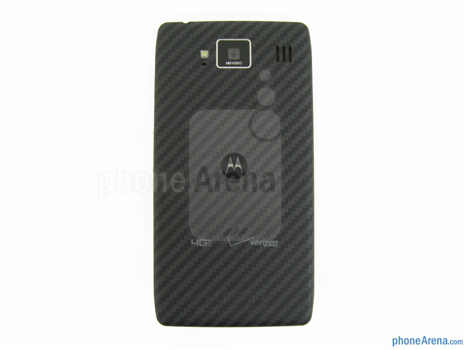 Back - Motorola DROID RAZR MAXX HD Review