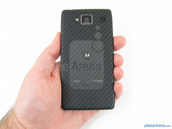 The Motorola DROID RAZR MAXX HD fits quite comfortably in the hand or pocket - Motorola DROID RAZR MAXX HD Review