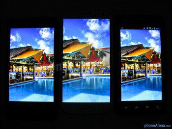 The Motorola DROID RAZR MAXX HD (left), the Samsung Galaxy S III (center), the Motorola DROID RAZR MAXX (right) - Motorola DROID RAZR MAXX HD Review