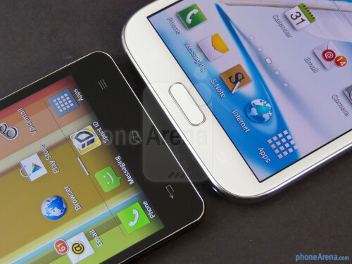 Samsung Galaxy Note II vs LG Optimus G