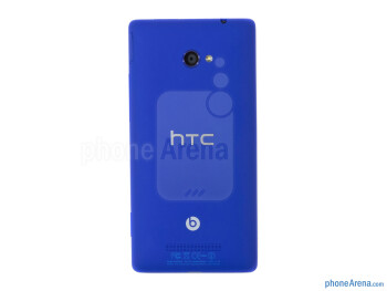 Back - HTC Windows Phone 8X Review