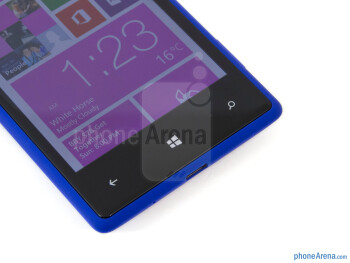 Capacitive Windows buttons - HTC Windows Phone 8X Review