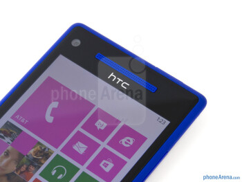Front camera - HTC Windows Phone 8X Review