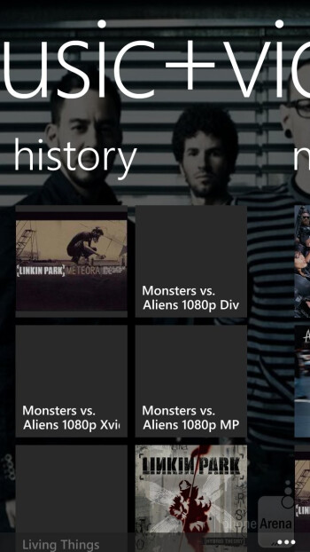 Music+Videos Hub - HTC Windows Phone 8X Review