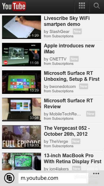Preinstalled apps - HTC Windows Phone 8X Review