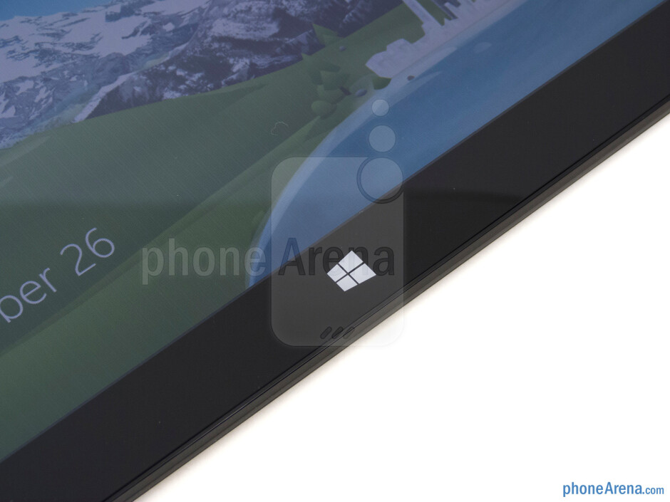 Capacitive Start button - Microsoft Surface RT Review