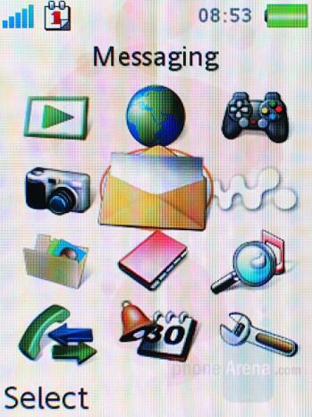 Standart theme - Sony Ericsson W880 Review