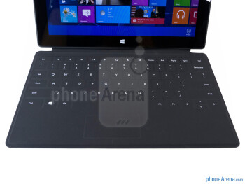 The optional full-sized keyboard - Microsoft Surface RT Review
