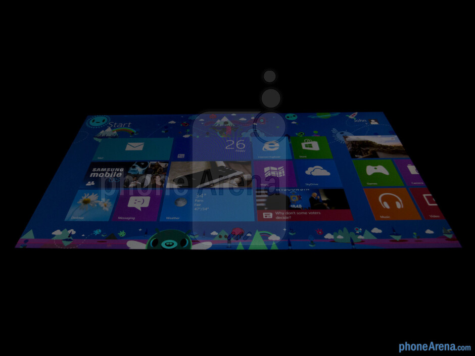 Viewing angles - Microsoft Surface RT Review