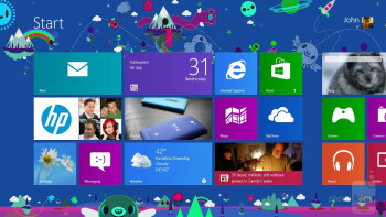 Interface of the Microsoft Surface RT - Microsoft Surface RT Review