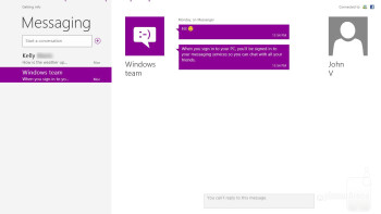 Messaging app - Microsoft Surface RT Review