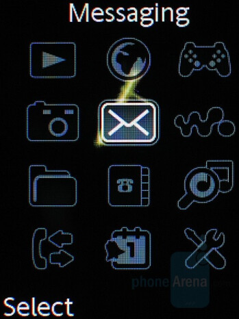 gSharp theme - Sony Ericsson W880 Review