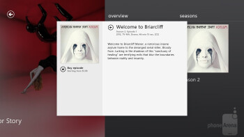 The Video app on the Surface provides us access to purchasing or renting movies and television shows - Microsoft Surface RT Review