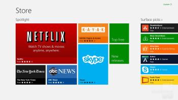 Microsoft Windows Store - Microsoft Surface RT Review
