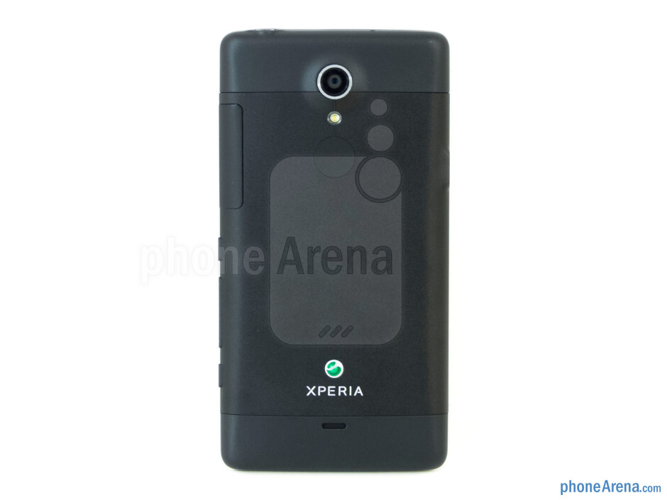 Back - Sony Xperia TL Review