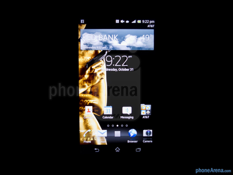 Viewing angles - Sony Xperia TL Review