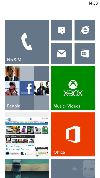 Samsung ATIV S - Samsung ATIV S vs HTC Windows Phone 8X