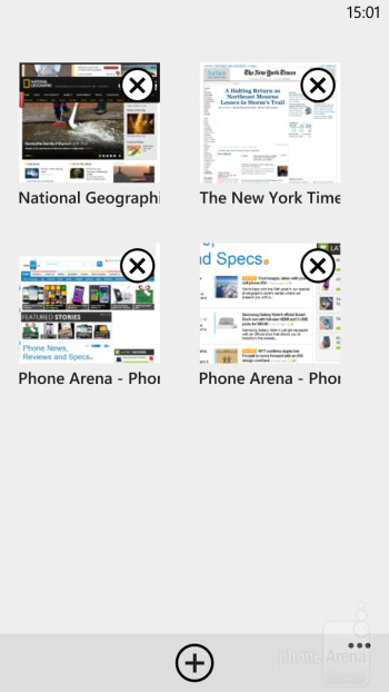 Surfing the web with Internet Explorer 10 - Samsung ATIV S vs HTC Windows Phone 8X