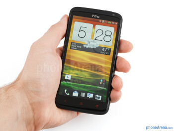 The HTC One X+ fits in your palm nicely - HTC One X+ Review