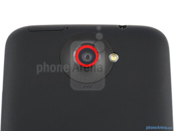 Rear camera - HTC One X+ Review