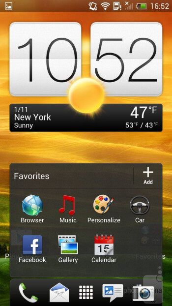 The HTC OneX+ comes with HTC's Sense 4+, applied on top of Android 4.1 Jelly Bean - HTC One X+ Review