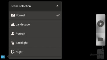 HTC One X+ camera interface - HTC One X+ vs Samsung Galaxy S III