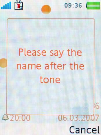 Voice control - Sony Ericsson W880 Review