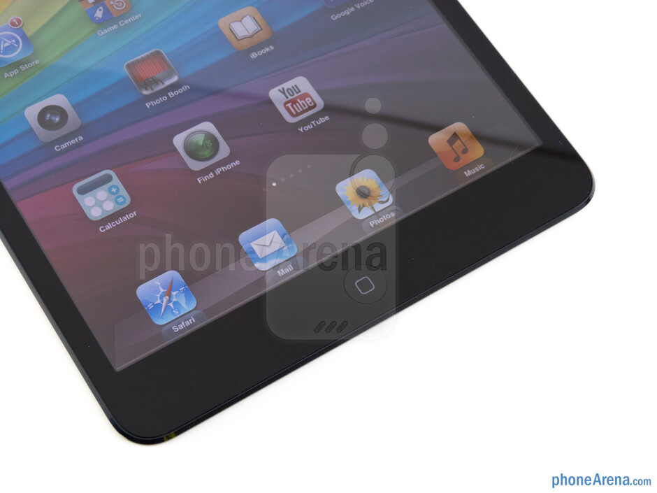 The physical home button - Apple iPad mini Review