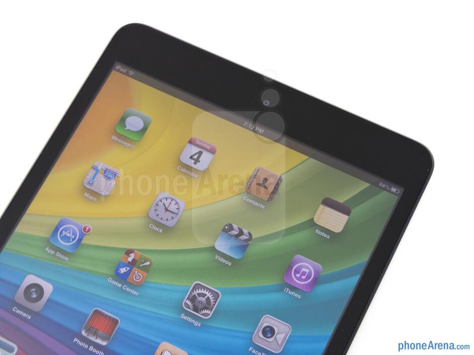 Front camera - Apple iPad mini Review