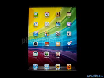 Viewing angles - Color production of the Apple iPad mini - Apple iPad mini Review