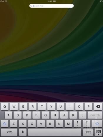 The iPad mini is running the iOS 6.0 - Apple iPad mini vs Google Nexus 7