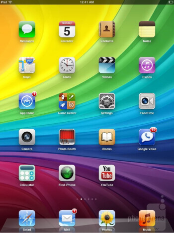 The UI of the Apple iPad mini - Samsung Galaxy Note 8.0 vs Apple iPad mini
