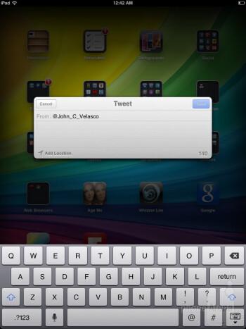 The iPad mini is running the iOS 6.0 - Apple iPad mini Review