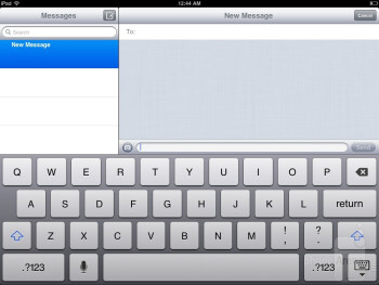 The keyboard options found on the Apple iPad mini - Apple iPad mini Review