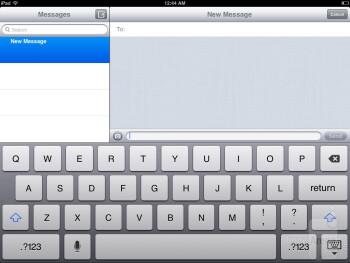 The keyboard options found on the Apple iPad mini - Samsung Galaxy Note 8.0 vs Apple iPad mini