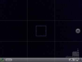 The camera interface of the Apple iPad mini - Samsung Galaxy Note 8.0 vs Apple iPad mini