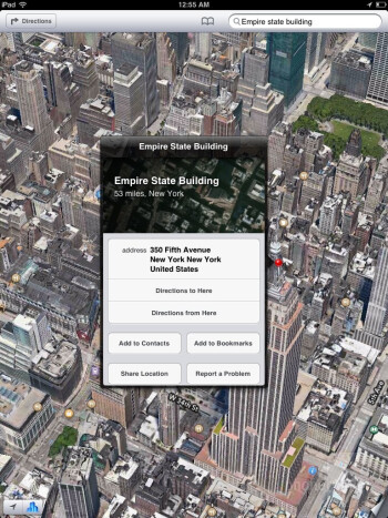 Apple Maps - Apple iPad mini Review