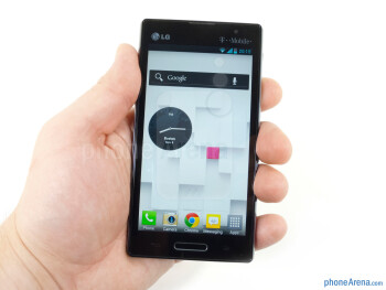 The LG Optimus L9 builds on the minimalist angular designs we've seen from the manufacturer - LG Optimus L9 Review
