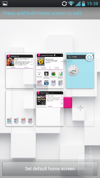 The Optimus UI - LG Optimus L9 Review