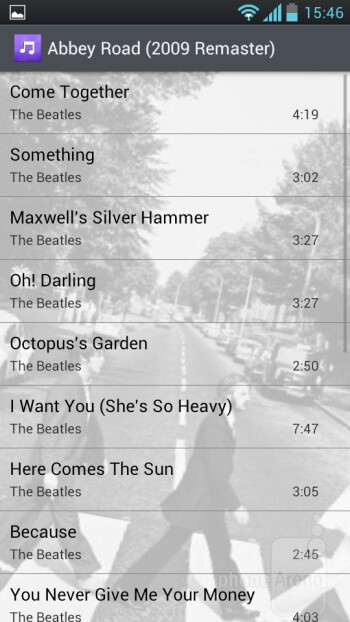Playing music on the LG Optimus L9 - LG Optimus L9 Review