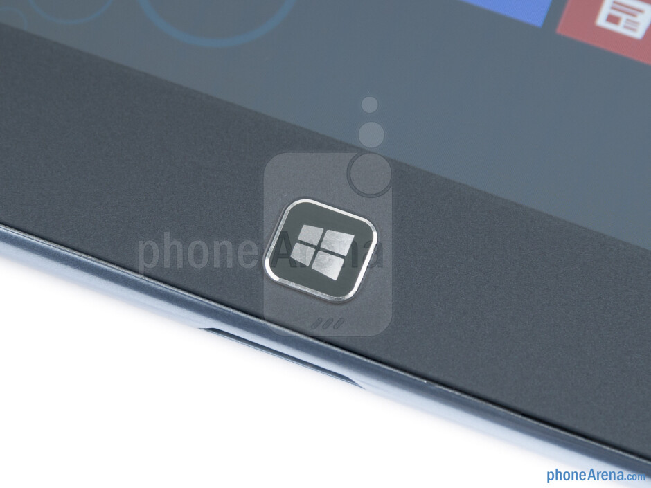 Windows button on the front - Samsung ATIV Tab Review