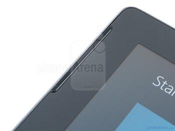 Speaker - Samsung ATIV Tab Review