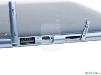 The sides of the Samsung ATIV Tab - Samsung ATIV Tab Review