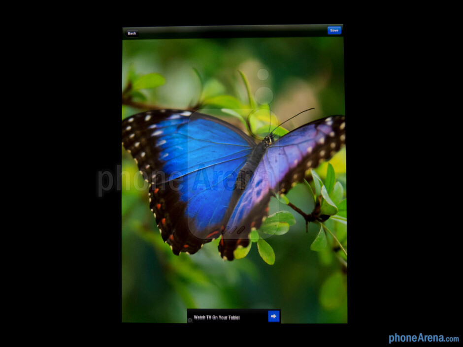 Color production - Apple iPad 4 Review