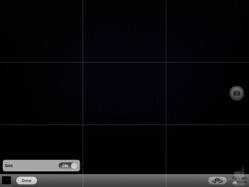 Camera interface - Apple iPad 4 Review