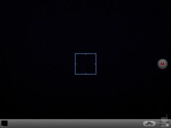 Camera interface of the Apple iPad 4 - Microsoft Surface Pro vs Apple iPad 4