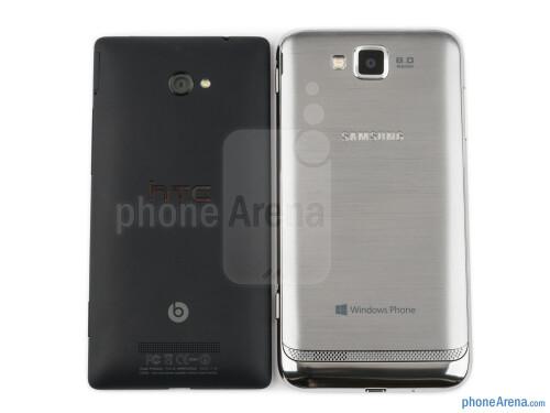 Samsung ATIV S vs HTC Windows Phone 8X