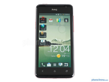 The HTC J feels sturdy as should a waterproof device - HTC J Review