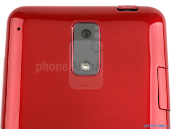 The 8-megapixel shooter on the back - HTC J Review