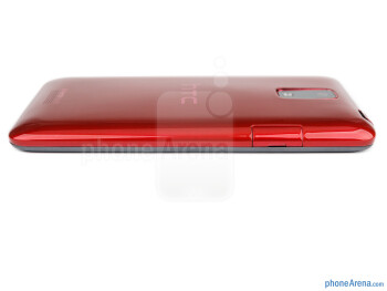 The microUSB port is on the left - The HTC J feels sturdy as should a waterproof device - HTC J Review